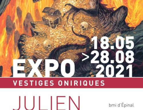 Alerte expo ! Julien Delval à Epinal